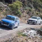 Derniers tests de l'Audi Q7 en Namibie avant sa commercialisation