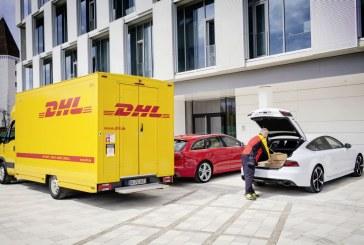 Partenariat entre Audi, DHL et Amazon pour une livraison dans votre Audi