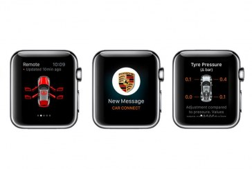 Application Porsche Car Connect – Commandez votre Porsche à distance sur l'Apple Watch
