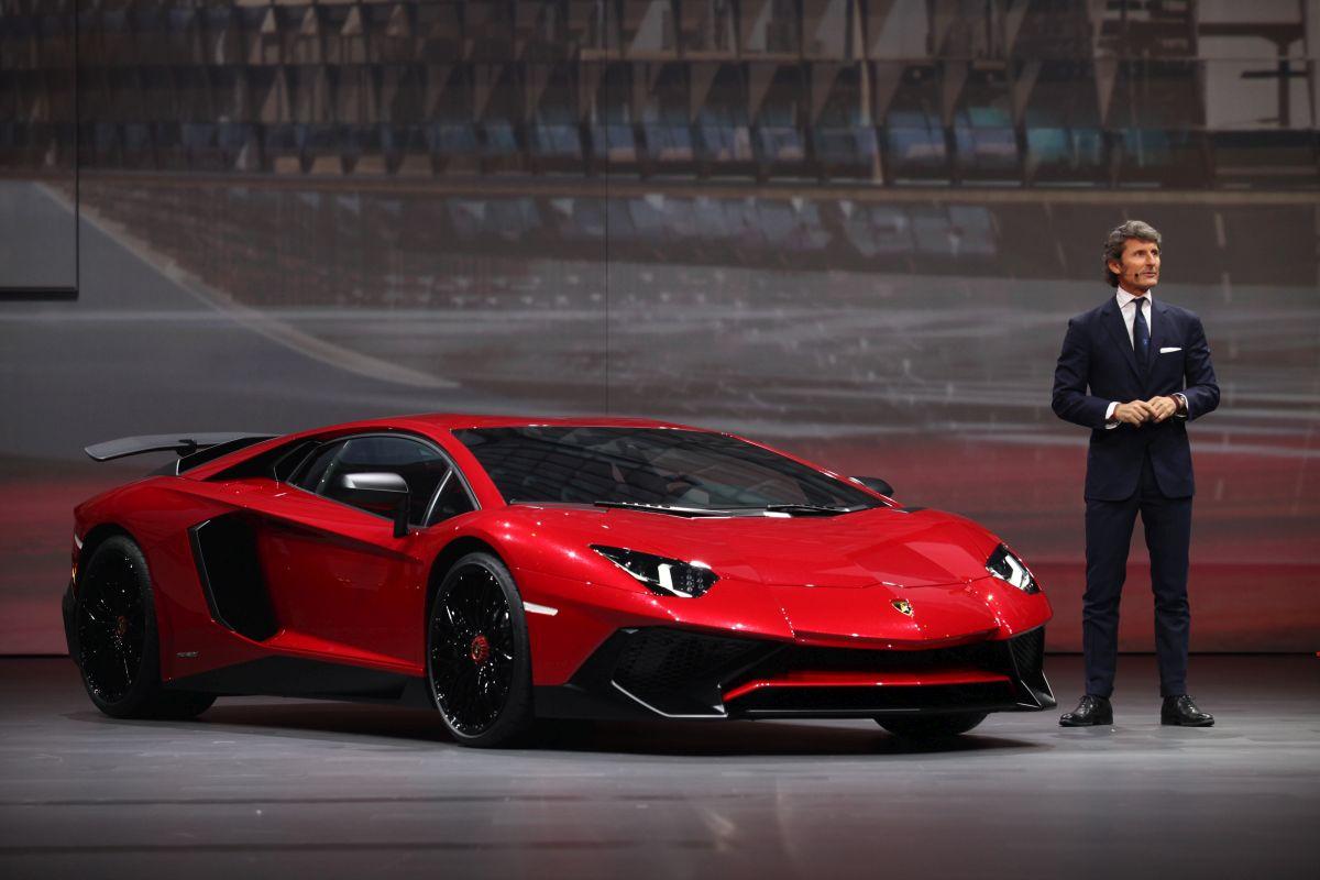 Shanghai 2015 - Lamborghini présente l'Aventador LP 750-4 Superveloce limitée à 600 exemplaires