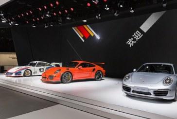 Shanghai 2015 – Porsche présente deux séries spéciales Style Edition, la 911 GT3 et la 911 Targa 4 GTS