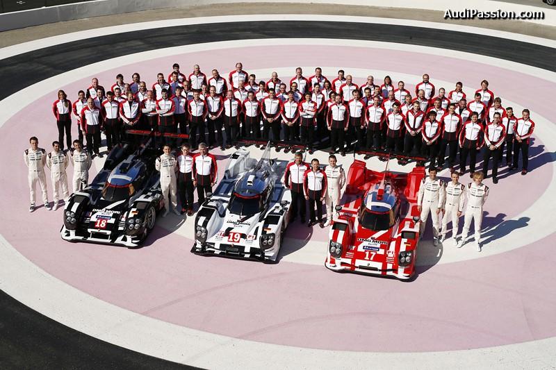 Porsche Team, Porsche 919 Hybrid in 2015 Le Mans colors