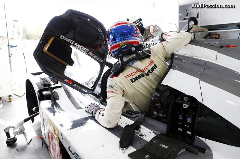 Porsche 919 Hybrid, Porsche Team: Mark Webber