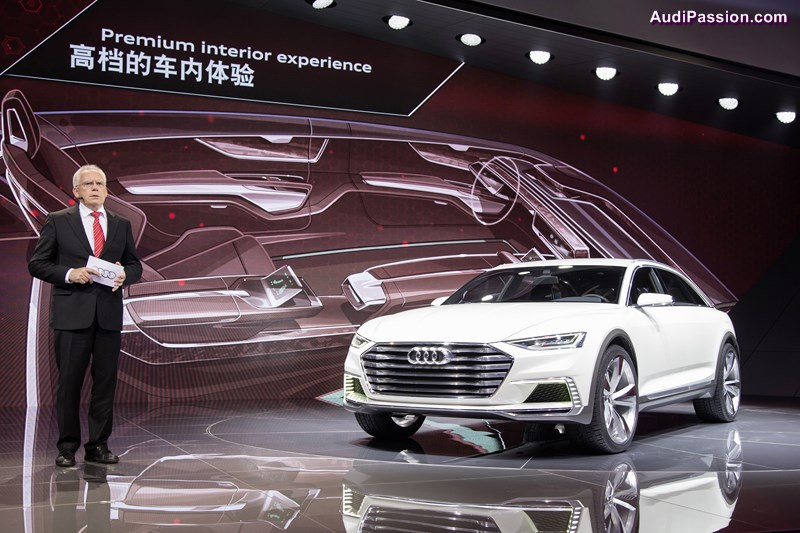 Audi auf der Auto Shanghai 2015