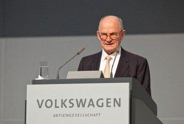Démission du Dr. Ferdinand K. Piëch du groupe Volkswagen