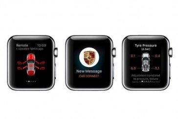 Application Porsche Car Connect – Commandez votre Porsche à distance sur l'Apple Watch
