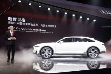 Shanghai 2015 – Deux nouveautés Audi e-tron et un concept car dévoilés en Première mondiale