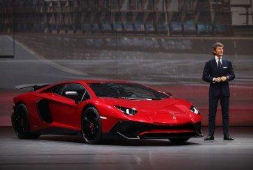 Shanghai 2015 – Lamborghini présente l'Aventador LP 750-4 Superveloce limitée à 600 exemplaires
