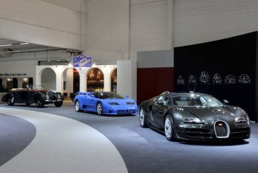 Techno Classica 2015 - Exposition de 3 icônes sur le stand Bugatti