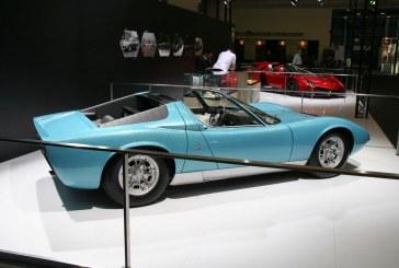 Techno Classica 2015 – Lamborghini expose deux Roadsters uniques : Miura & Veneno Roadster