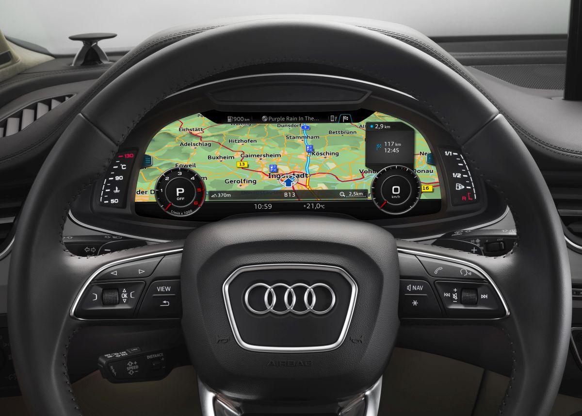 Audi utilise des cartes de navigation haute-résolution pour ses systèmes d'assistance à la conduite
