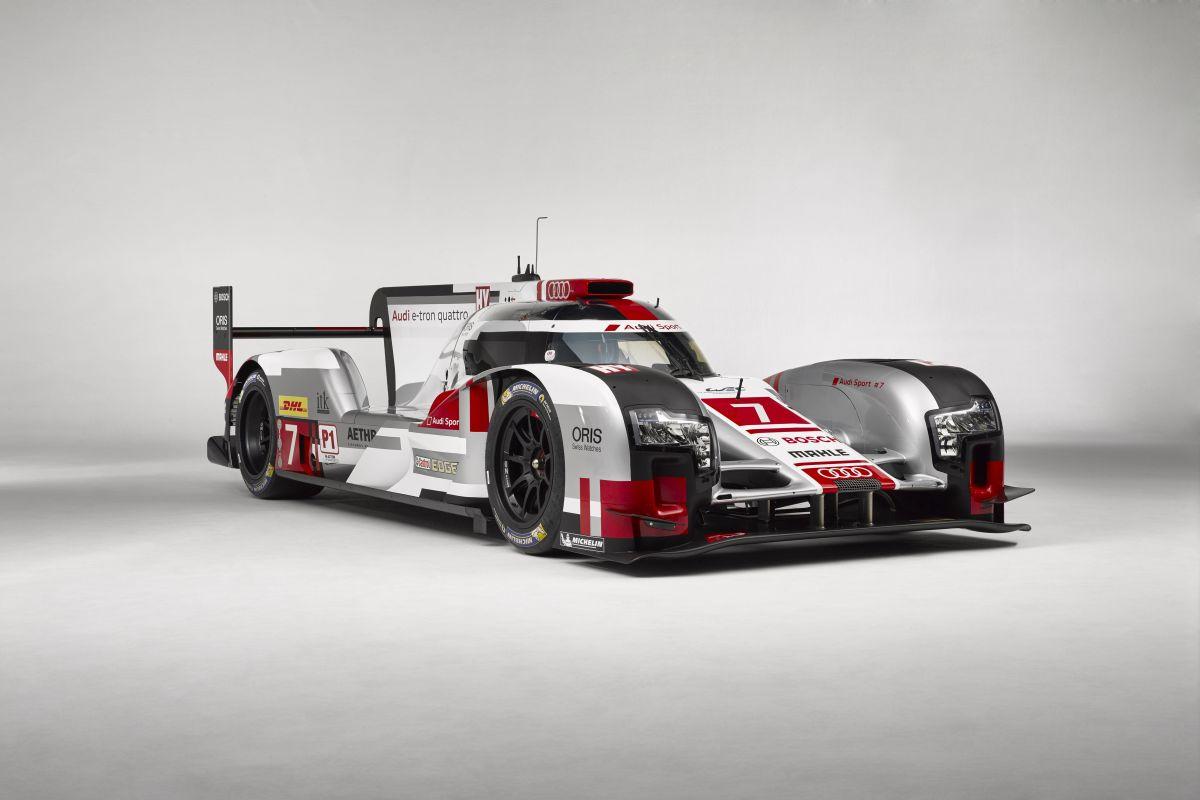 WEC - Nouveaux appendices aérodynamiques pour l'Audi R18 e-tron quattro 2015