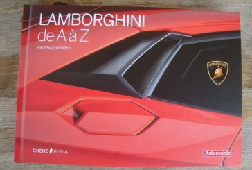 Livre Lamborghini de A à Z de Philippe Billon – Editions Chêne E/P/A