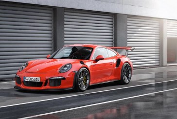 Porsche choisit les pneus MICHELIN Pilot Sport Cup 2 pour le lancement de la 911 GT3 RS
