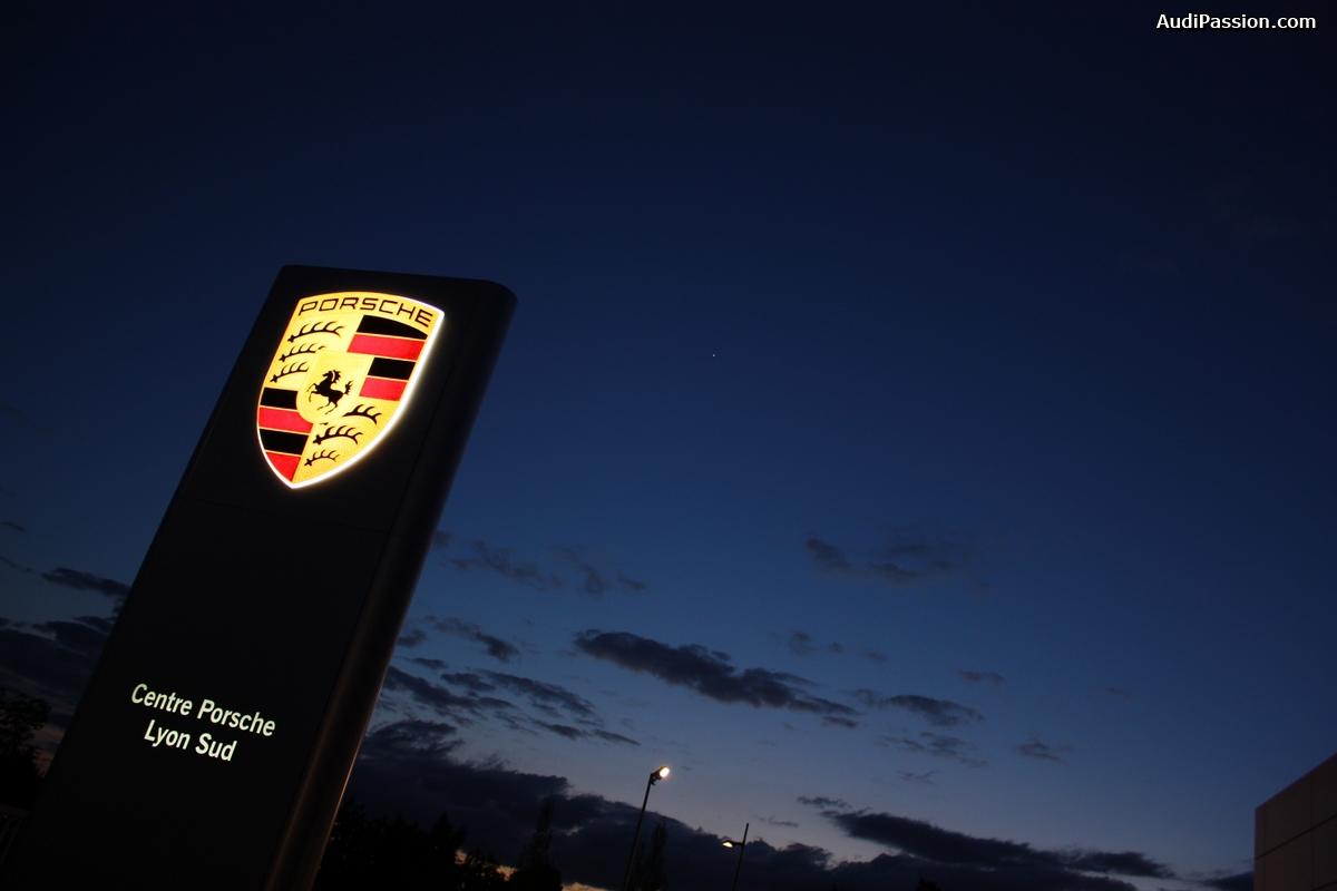 Ouverture du centre Porsche Lyon Sud