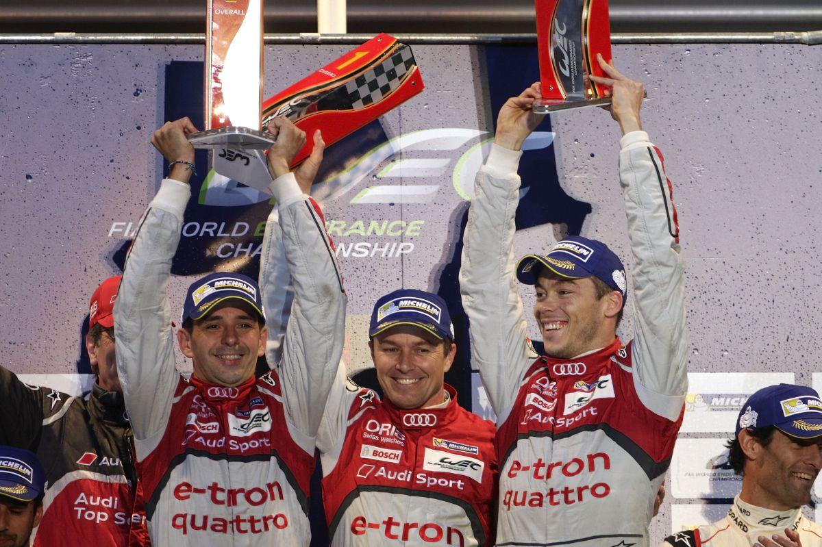 WEC - Audi célèbre sa deuxième victoire de la saison face à Porsche aux 6 heures de Spa