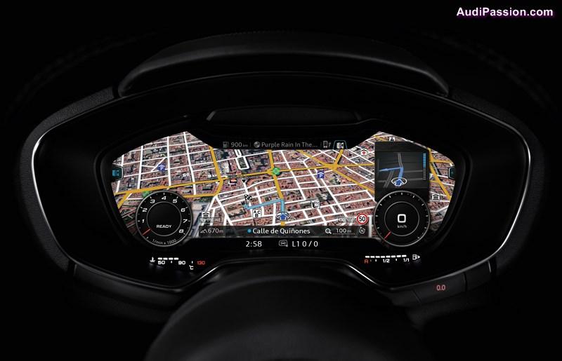 Audi virtual cockpit