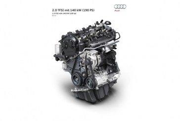Nouveau moteur Audi 2.0 TFSI 190 ch – Première mondiale au Vienna Motor Symposium