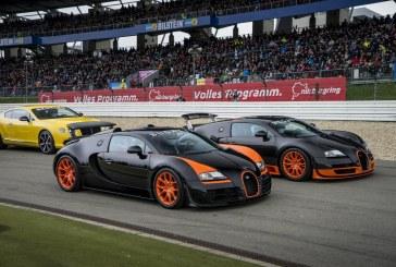 Dernier baroud d'honneur de 2 Bugatti Veyron aux 24 Heures du Nürburgring