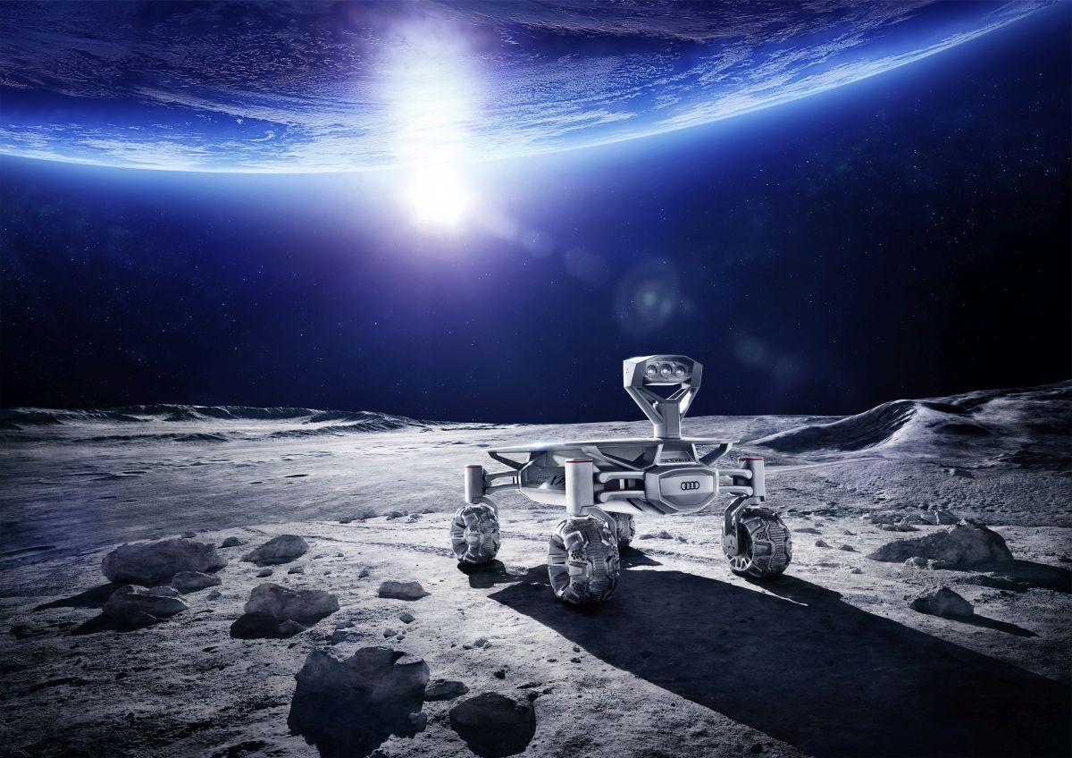 Mission to the moon : AUDI AG soutient l'Equipe Allemande pour le Google Lunar XPRIZE