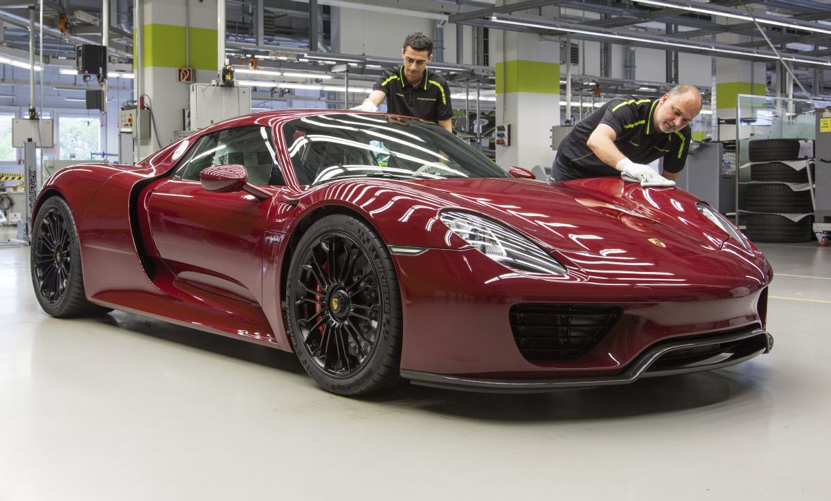 Fin de la production de la Porsche 918 Spyder
