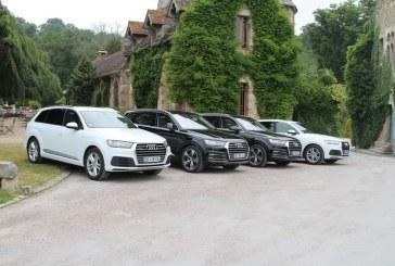 Garden Party pour le lancement de l'Audi Q7