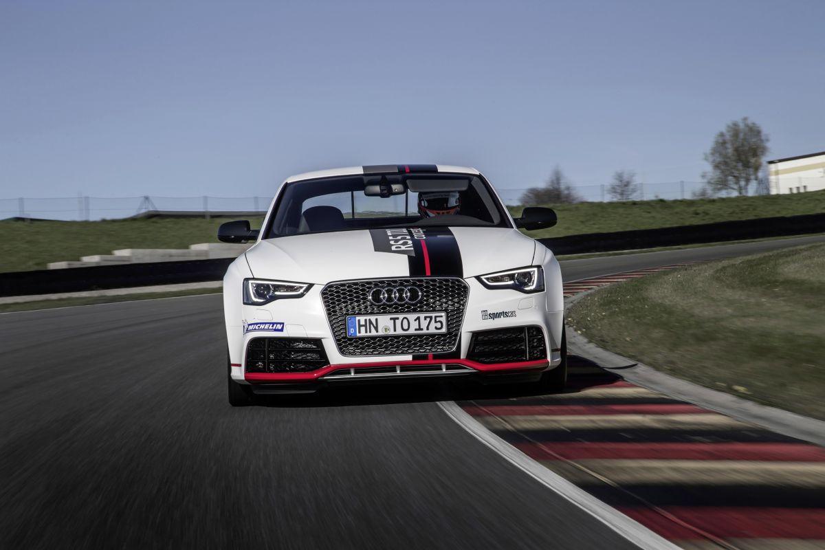L'Audi RS 5 TDI competition concept établit un record sur le circuit de Sachsenring