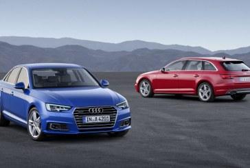 Nouvelles Audi A4 et A4 Avant B9 – Une 5ème génération très technologique