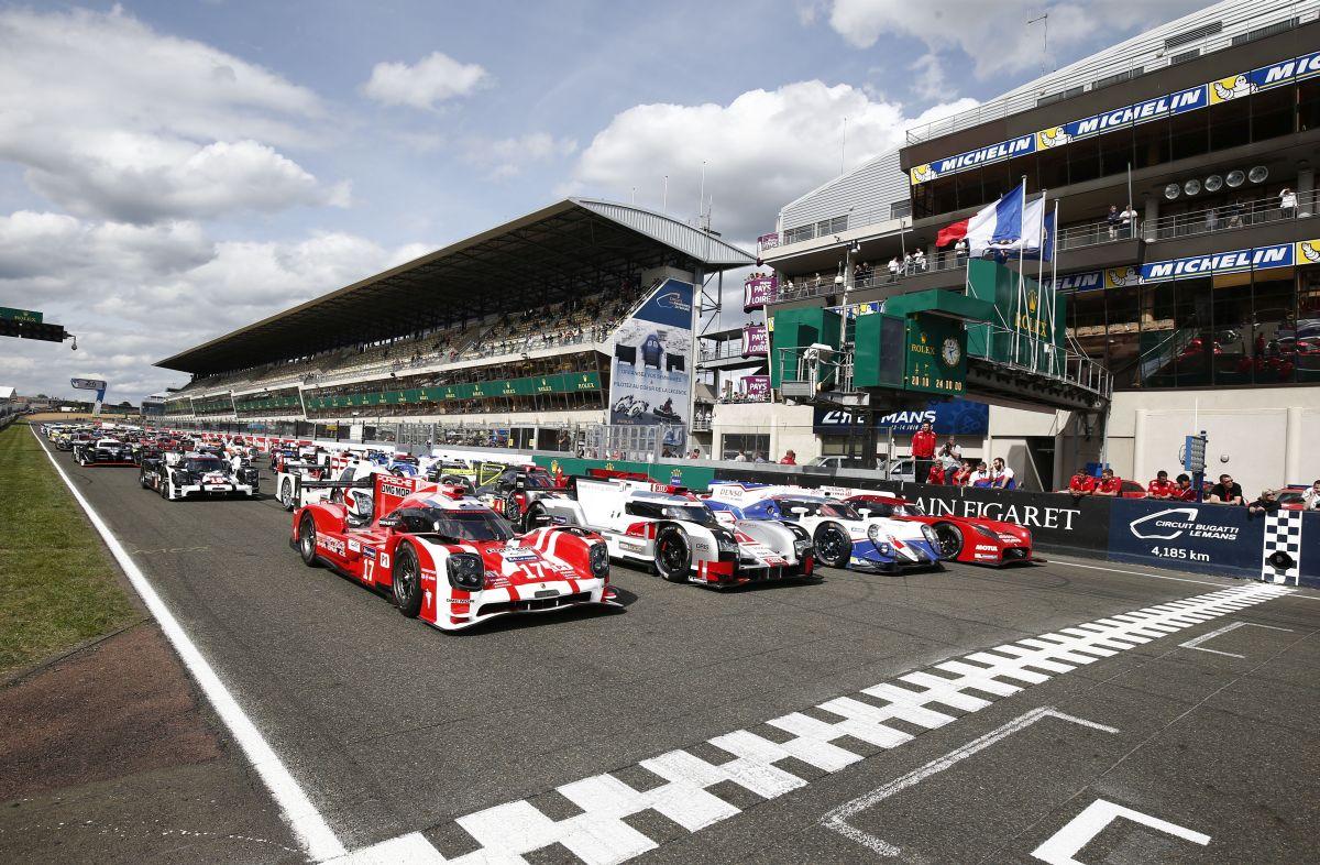 WEC - Porsche domine la Journée Test des 24 Heures du Mans 2015 devant Audi