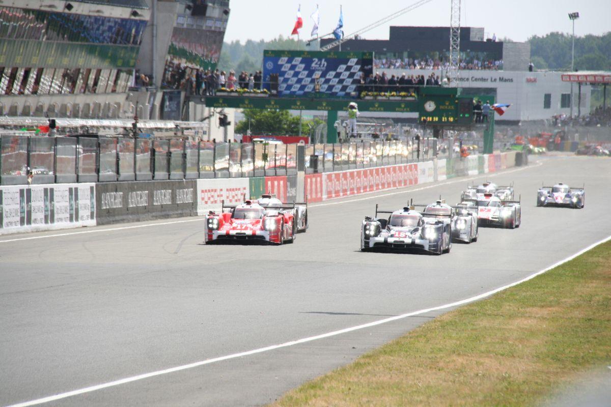 WEC - Résumé des 4 premières Heures des 24 Heures du Mans dominées par Porsche