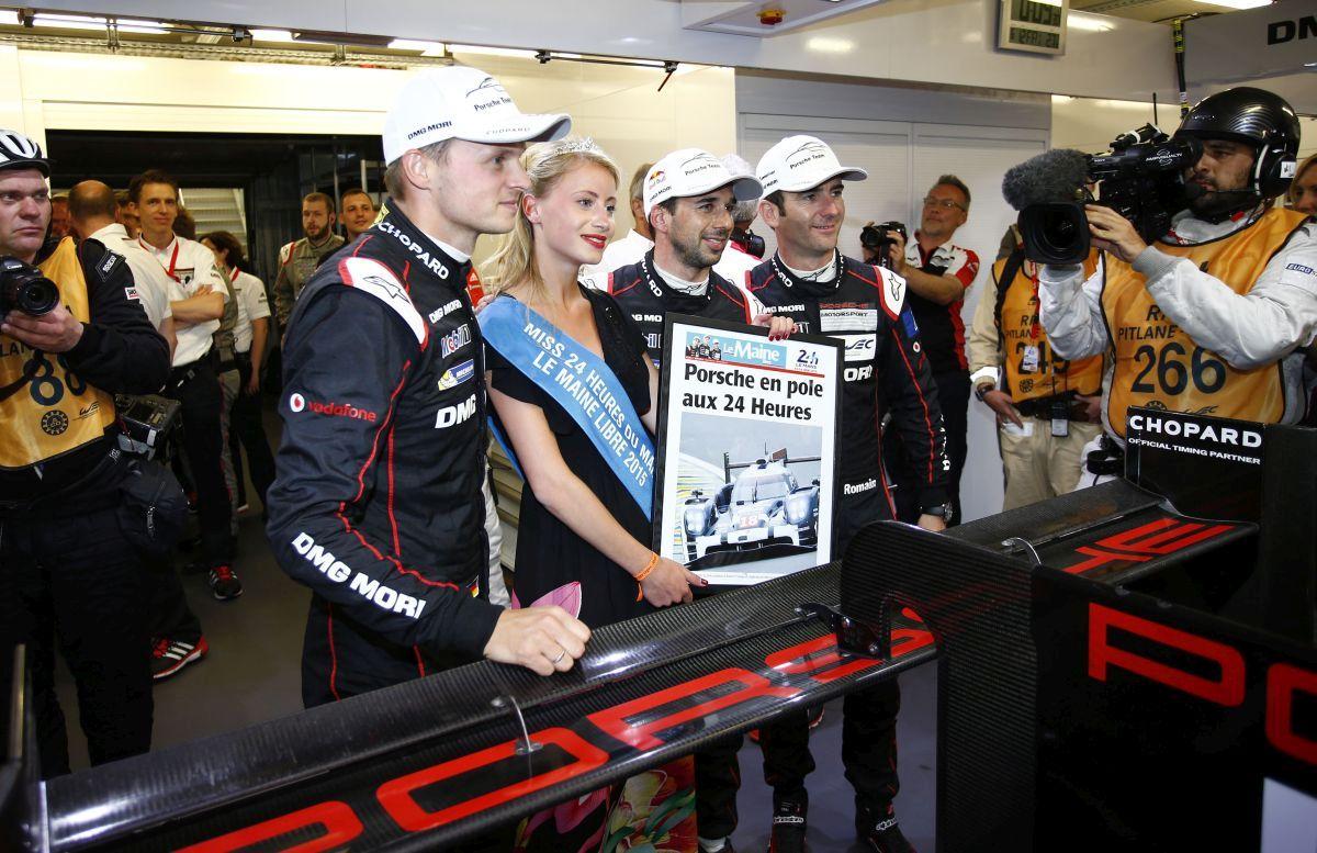 WEC - Porsche en Pole Position et Audi est prêt pour les 24 Heures du Mans