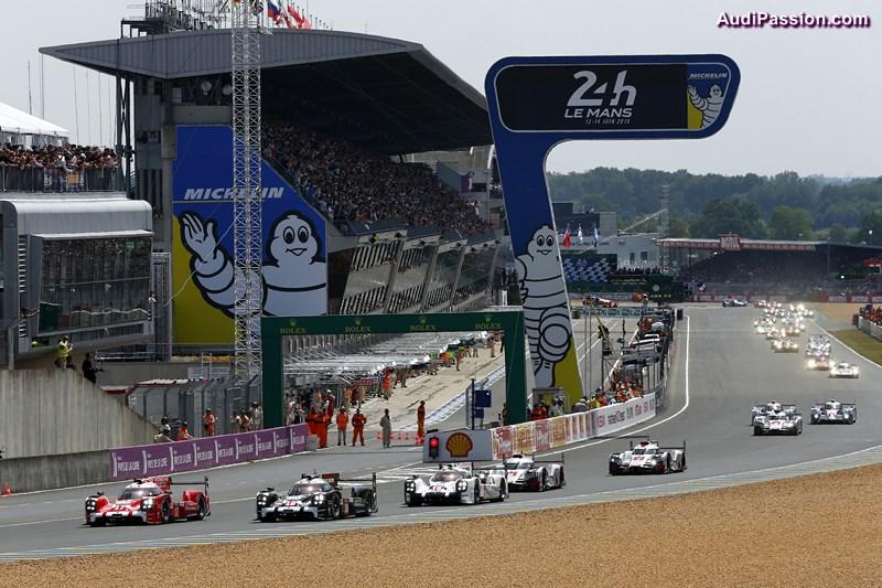 Porsche 919 Hybrid, Porsche Team, Start