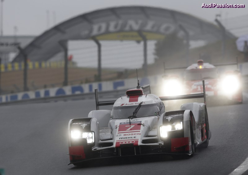 wec porsche domine la journ e test des 24 heures du mans 2015 devant audi. Black Bedroom Furniture Sets. Home Design Ideas