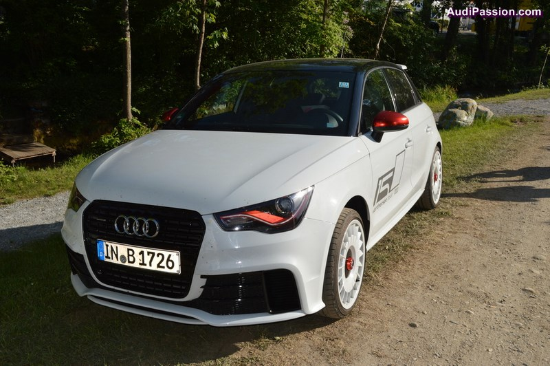 audi a1 quattro sportback au w rthersee 2015. Black Bedroom Furniture Sets. Home Design Ideas