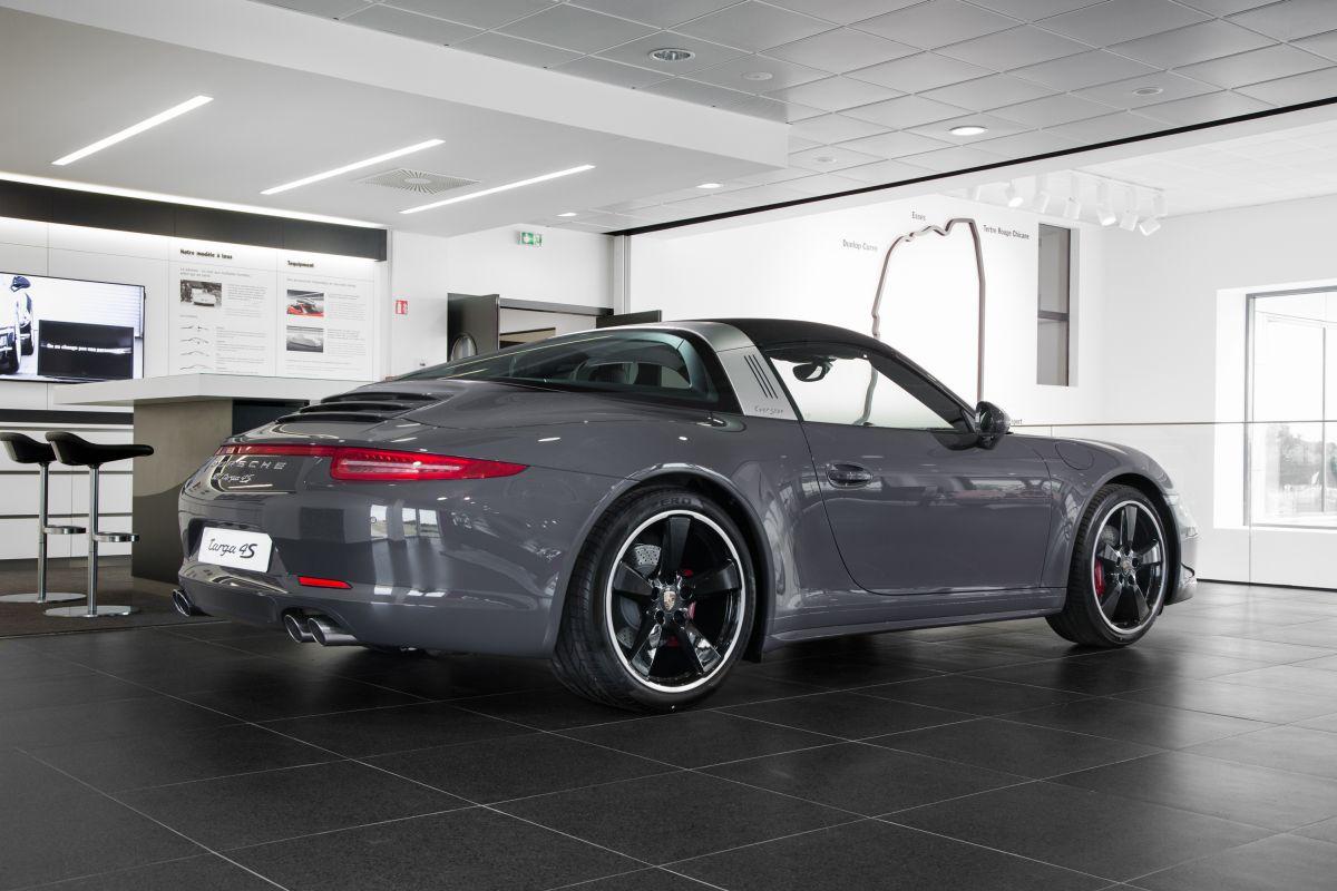 Porsche 911 Targa 4S Exclusive Edition - Porsche France fête les 50 ans de la 911 Targa avec une édition exclusive