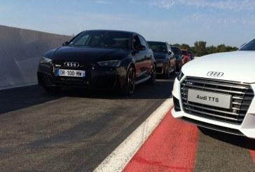 Essai Audi RS 3 au Castellet