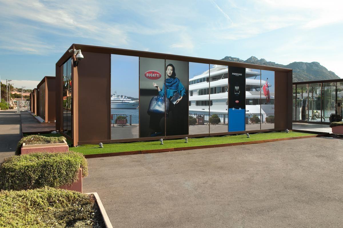 Bugatti ouvre un nouveau magasin éphémère à Porto Cervo en Italie