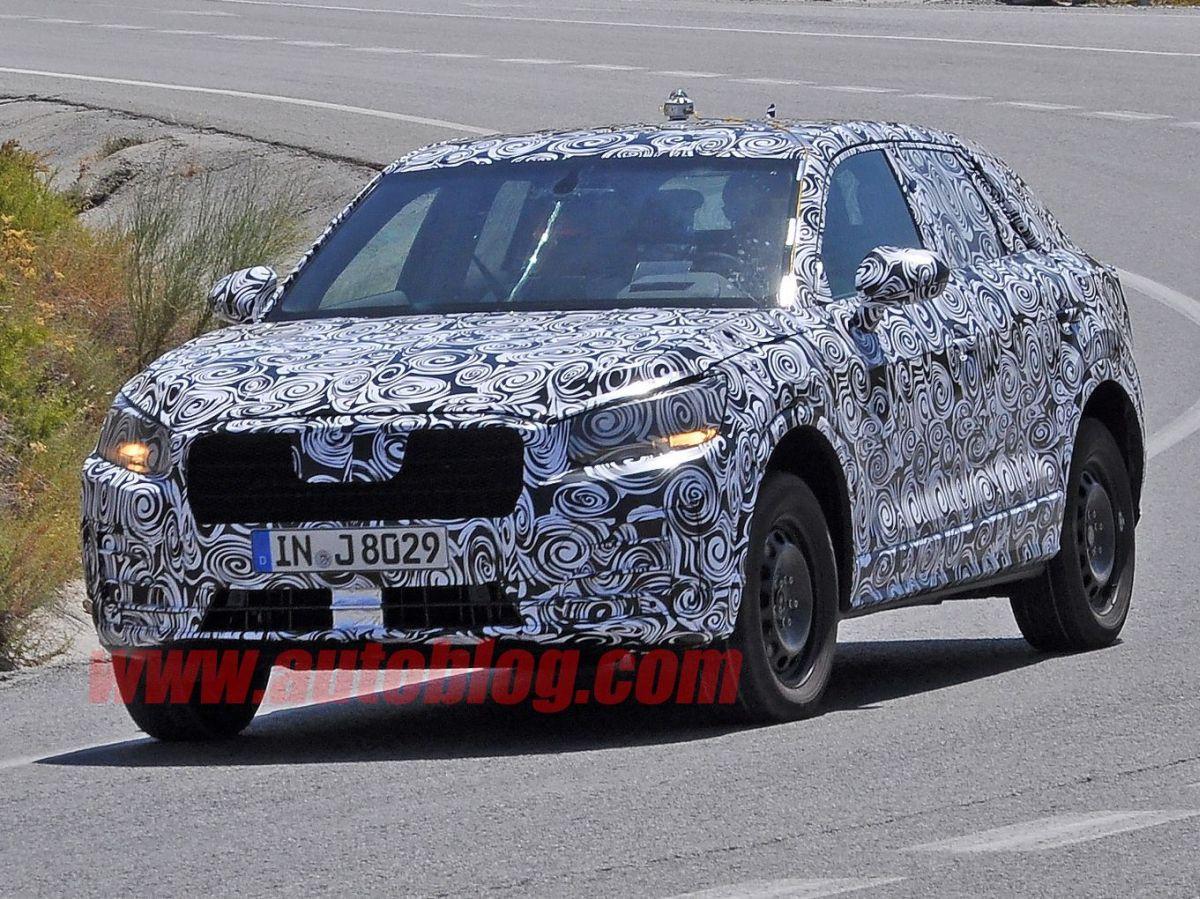 Spyshots de l'Audi Q1 - Son allure se précise