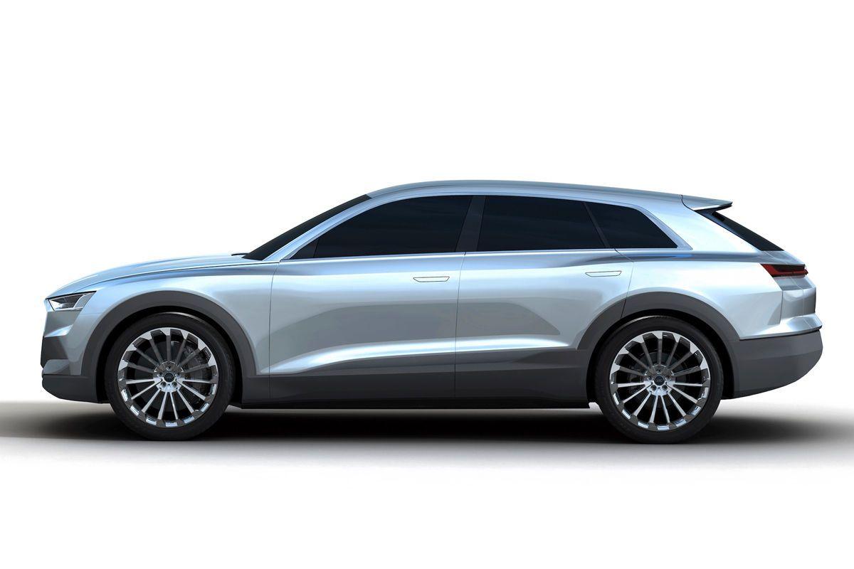 Teaser de l'Audi Q6 e-tron quattro concept