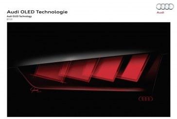 Audi va présenter à l'IAA 2015 à Francfort ses nouvelles technologies d'éclairage OLED