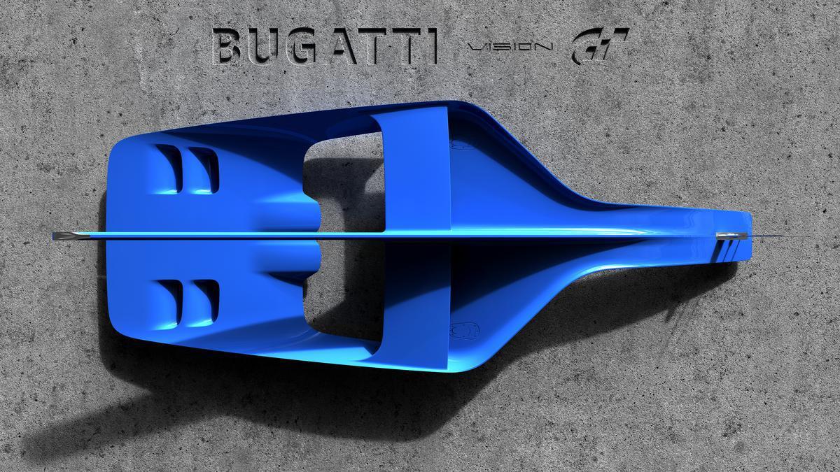 Bugatti Vision Gran Turismo -  Bugatti créé son premier véhicule pour le jeu video