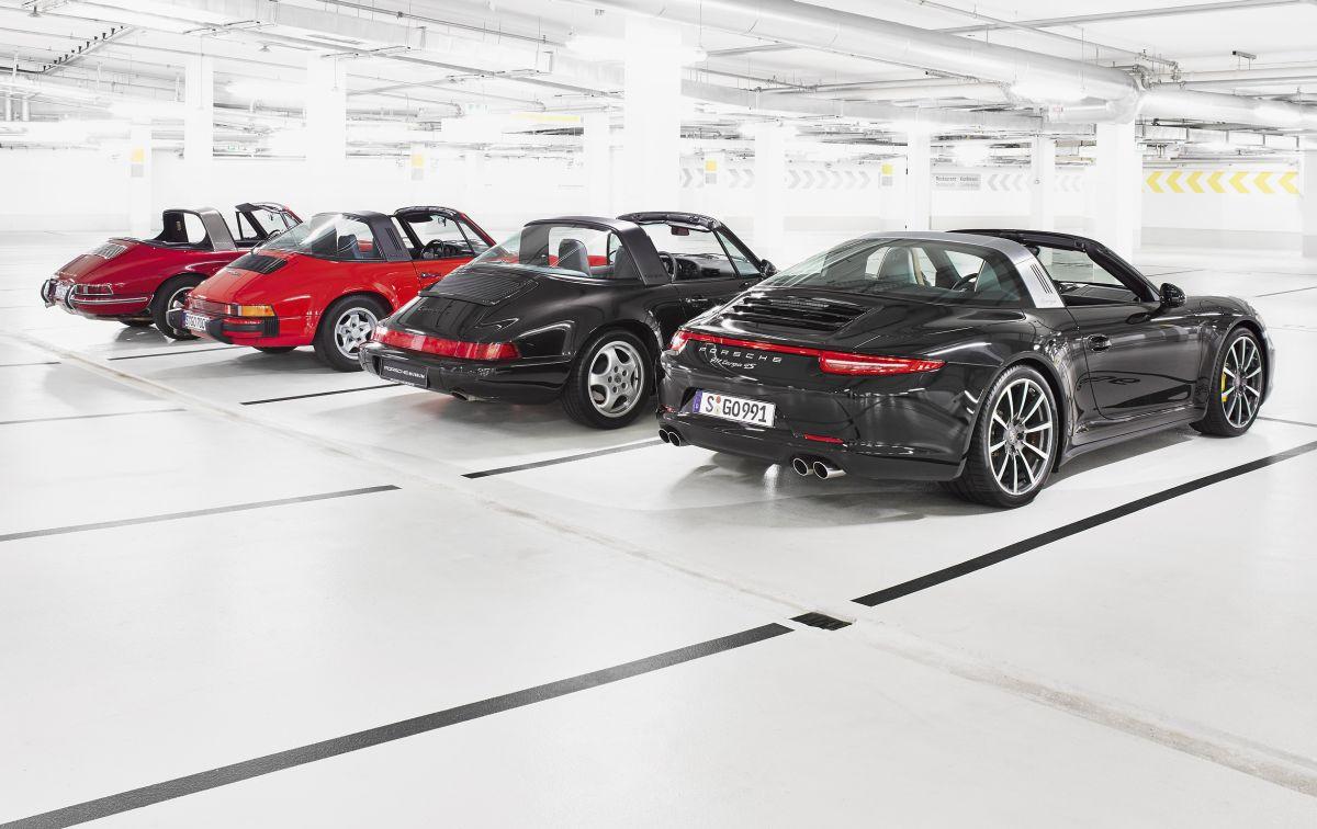 La Porsche Targa fête ses 50 ans - Histoire de la Porsche 911 Targa