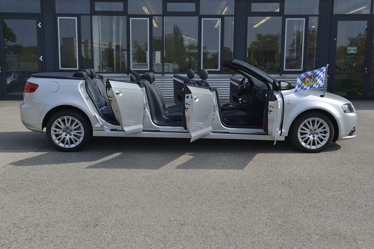 Audi A3 Cabriolet XXL Shuttle - Un modèle unique construit par des apprentis Audi
