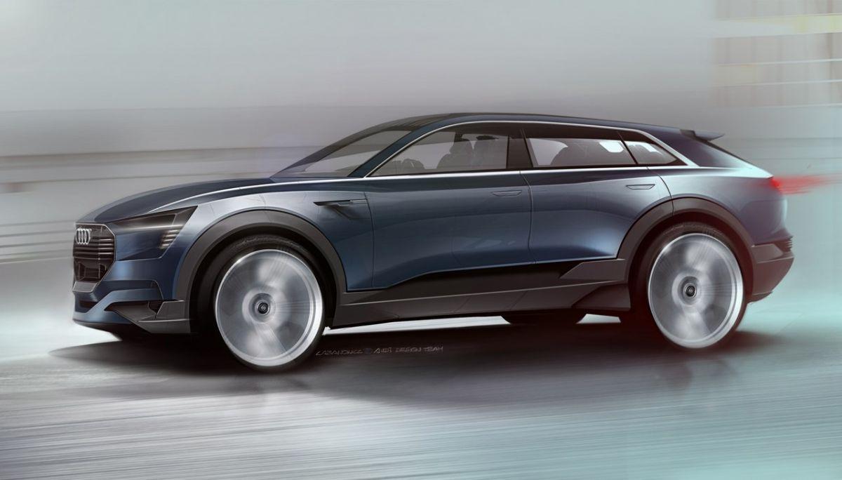 Audi e-tron quattro concept à l'IAA 2015 - Un véhicule proche de la production en série