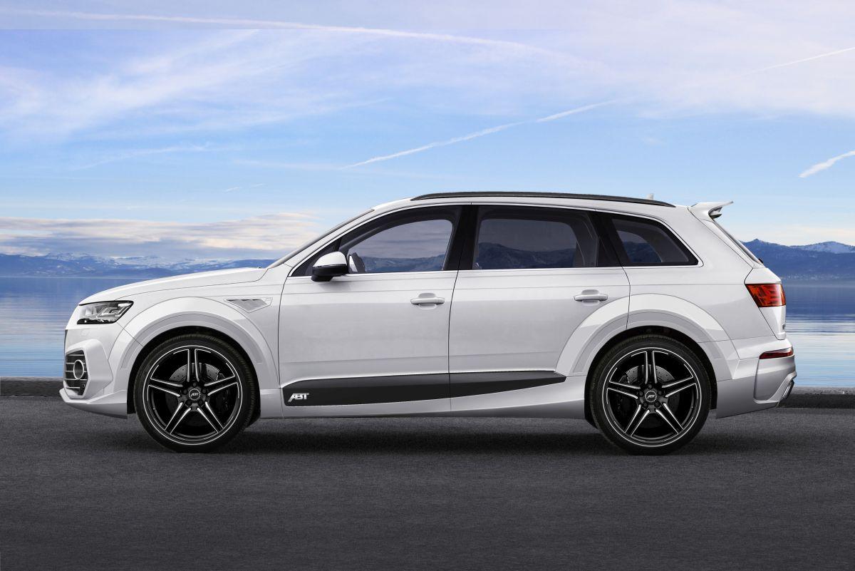 ABT QS7 - Un kit carrosserie pour l'Audi Q7 par ABT