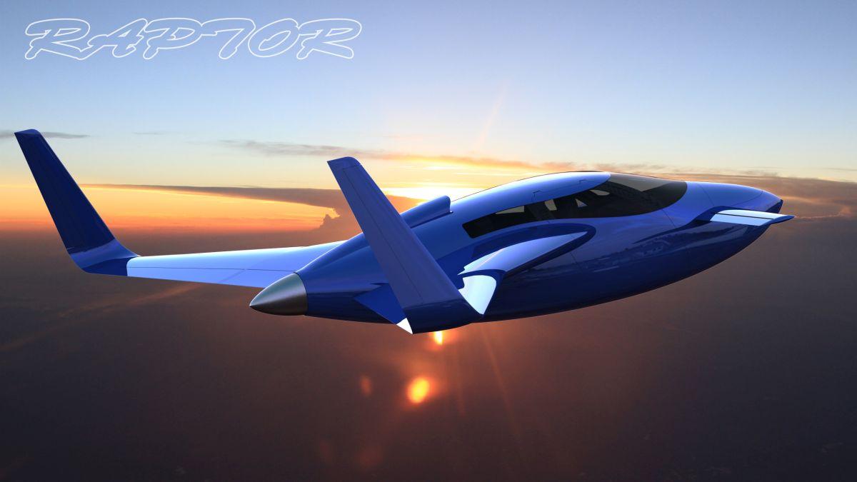 Raptor Diesel GT - Un avion motorisé par un moteur Audi 3.0 L V6 TDI
