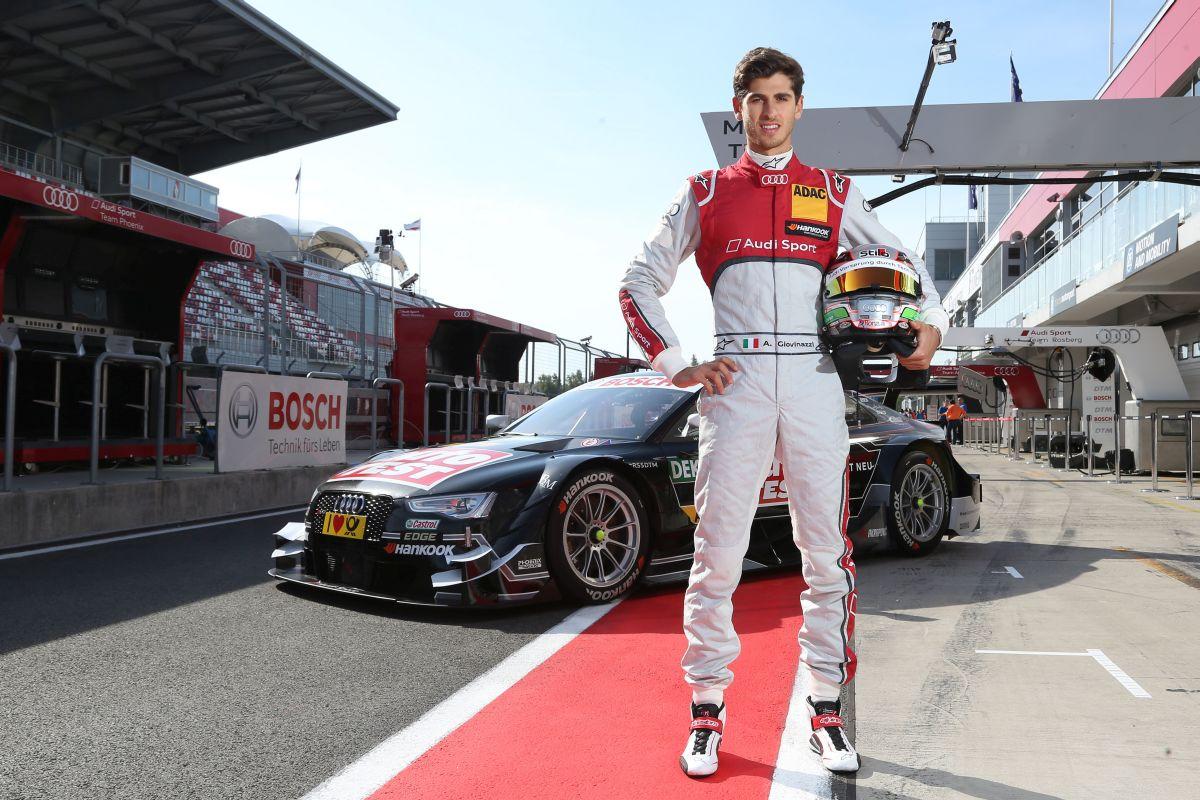 DTM - Antonio Giovinazzi pilotera l'Audi RS 5 DTM de Timo Scheider à Moscou