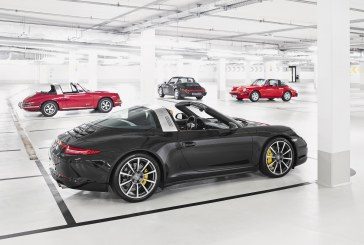 "Exposition Autoworld ""50 Years of Porsche Targa"", by State of Art"