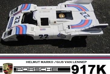 Porsche 917 K victorieuse aux 24H du Mans 1971 en Lego – Votez!