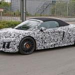 Spyshots Audi R8 Spyder 2016